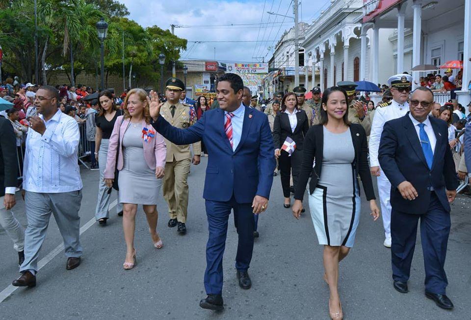 ALCALDE KELVIN CRUZ PARTICIPA EN LOS ACTOS DE CONMEMORACIÓN DEL 176 ANIVERSARIO DE LA INDEPENDENCIA NACIONAL.