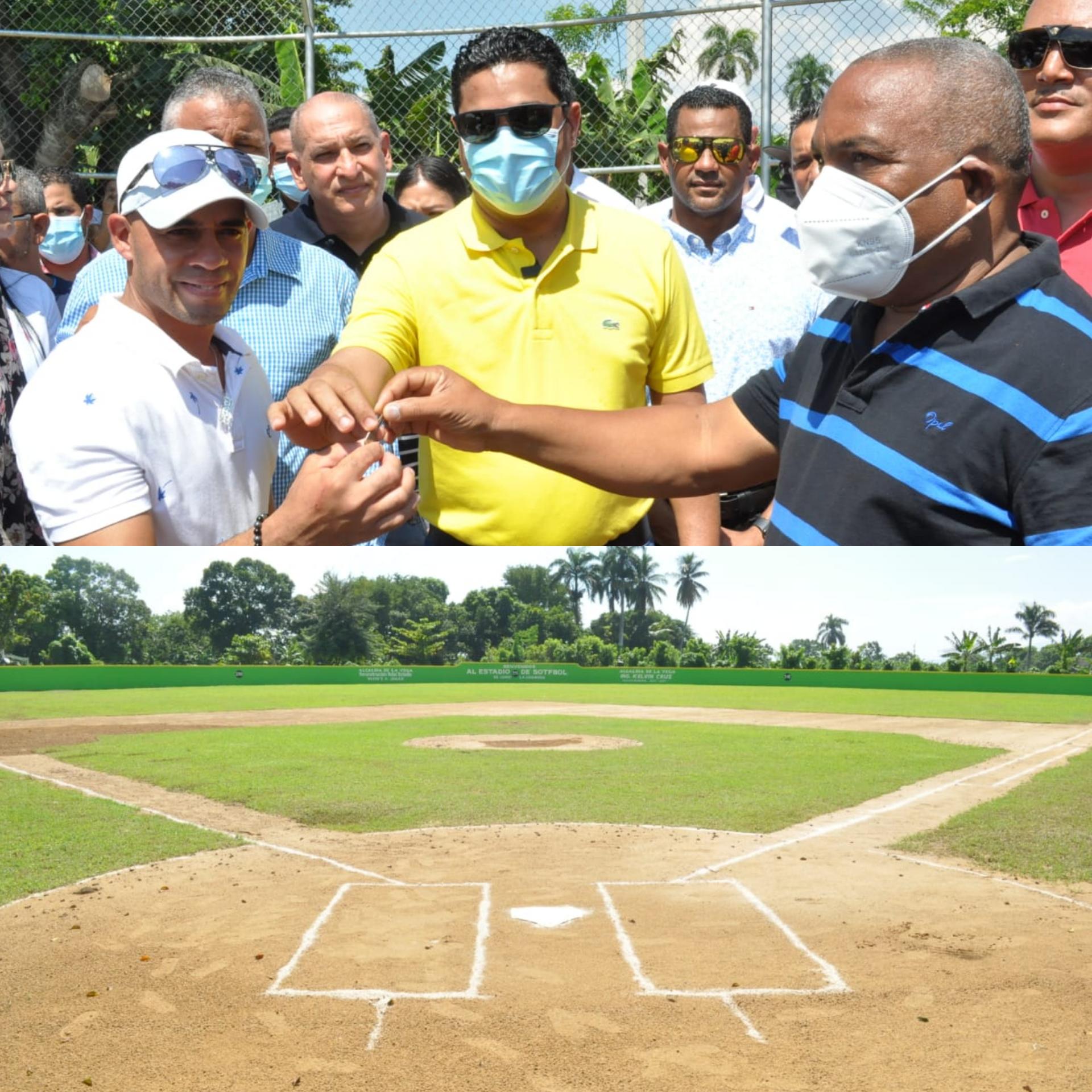 Alcalde Kelvin Cruz entrega Play de Jamo La Carmona totalmente reconstruido